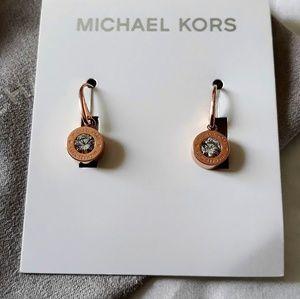 Michael Kors Rose gold Drop Earrings